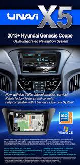 hyundai genesis coupe navigation system oem integrated navigation system for hyundai genesis coupe 2013 2015