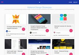 templates blogger material design 11 sites to help you find material design inspiration
