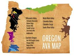 map of oregon wineries learn your avas