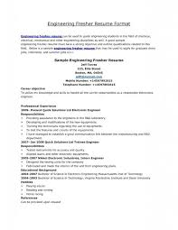 Resume Format Examples For Freshers by Download Standard Resume Format Haadyaooverbayresort Com