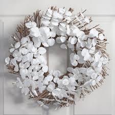 eucalyptus wreath white eucalyptus wreath world market