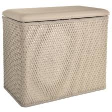 Unique Laundry Hampers by Amazon Com Lamont Home Carter Bench Wicker Laundry Hamper With