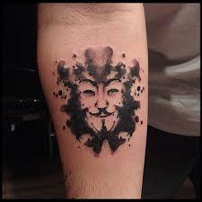 76 best v for vendetta tattoos images on pinterest drawings
