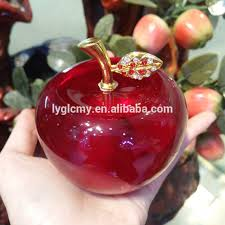 decorative glass apple decorative glass apple suppliers and