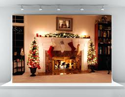 backgrounds wallpaper abyss fireplace crackling yule log free