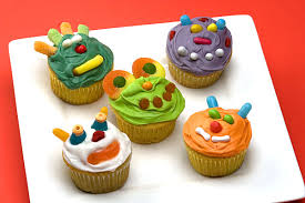 Decorate Your Own Cupcake Monster Cupcakes For A Monster Theme Party For Kids