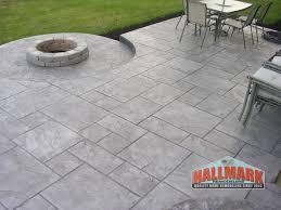 Concrete Paver Patio Ideas by Stone Patio On Patio Ideas With Awesome Concrete Patio Pavers