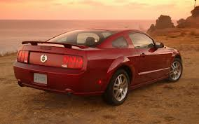mustang quarter 2005 ford mustang gt track test review motor trend