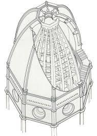 cupola santa fiore brunelleschi santa fiore florenz architetture d arte d礬co