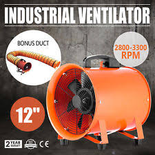 12 u0027 u0027 extractor fan blower ventilator 5m duct hose basement exhaust