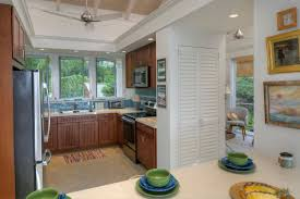 destination st john the point at maria bluff st john rental well designed kitchen with mahogany cabinetry