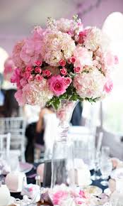 Wedding Flowers Pink Elevated Wedding Flowers Mother Of The Bride