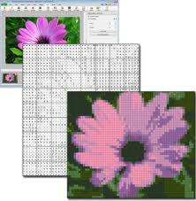 cross stitch pattern design software create patterns from photos with photopad embroidery software