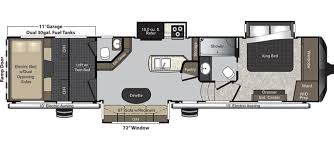 2 Bedroom Travel Trailer Floor Plans Keystone Raptor Rvs For Sale Camping World Rv Sales