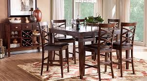 cherry wood dining room set dark wood dining room sets cherry espresso mahogany brown etc