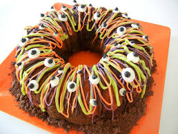sugar swings serve some tri color halloween bundt cake colored