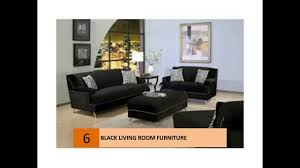 modern black living room furniture design ideas and pictures youtube