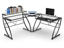 60 Inch L Shaped Desk Z Line Matrix 60inch Glass Computer Desk Youtube Regarding Z Line