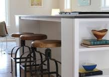 Kitchens Island - trendy display 50 kitchen islands with open shelving