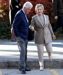 Clinton House Chappaqua by Hillary Clinton Arrives At Polling Place In New York To Cast Us