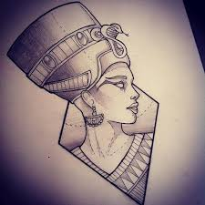 queen nefertari tattoo follow badgalronnie pinteres