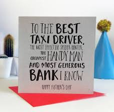 to the best fathers day card by ivorymint stationery