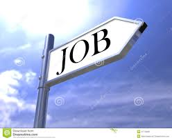 Jobs Search by Job Search Road Sign Find Vacancy For Jobs Royalty Free Stock