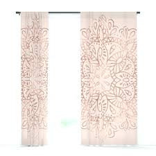 Pink And Gold Curtains Blush Pink Shower Curtain Gold And Pink Curtains Mandala Gold