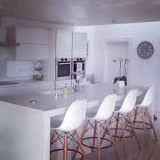 Kitchen Stools For Island Style by A Customers Beautiful Kitchen Finished Off With Our Dsw Bar Stools