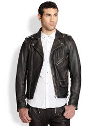 denim motorcycle jacket diesel seddik wolf printedback leather motorcycle jacket in black