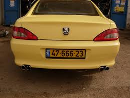 peugeot yellow lior zx 1998 peugeot 406 specs photos modification info at cardomain