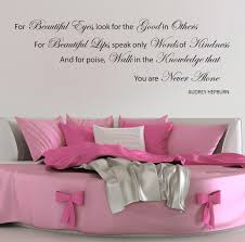 audrey hepburn wall stickers quotes beautiful eye decals w32 ebay please use the dropdown tab at the top of the page to select your colour and size requirements