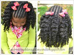 How To Do Flat Twist Hairstyles by Beads Braids And Beyond Natural Hair Styles For Little Girls