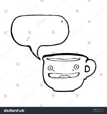 smiling coffee mug cartoon stock vector 88273441 shutterstock