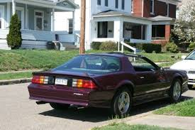 1992 camaro rs for sale chevrolet camaro t tops 1992 purple for sale 1g1fp23e5nl128094