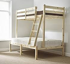 Three Sleeper Bunk Bed Ft  Double Triple Sleeper Bunkbed - Three sleeper bunk bed