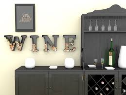 Letter Furniture Amazon Com Wine Letter Cork Holder Art Wall Décor Metal All 4