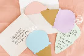 how to make invitations how to make cone party invites 10 tips for easy