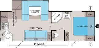 30 Ft Travel Trailer Floor Plans Jayco Travel Trailer Floorplans Jims Rv Center
