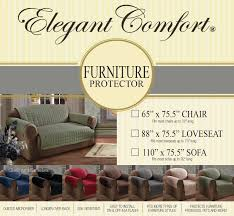 How To Measure A Sofa For A Slipcover by Amazon Com Elegant Comfort Quilted Furniture Protector Special