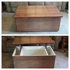 Woodworking Plans For A Coffee Table by Coffee Table Upgrade 10 Steps With Pictures