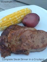 slow cooker steak and potatoes 5 dollar dinnerscom complete steak dinner in a crockpot final jpg