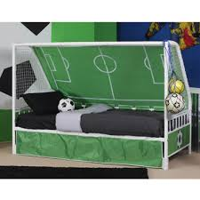 Youth Football Bedroom Soccer Goal Bed Done Kid U0027s Rooms Pinterest Room Soccer
