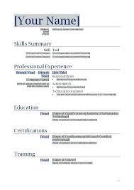 Resume Template Windows 7 resume templates for word windows danaya us