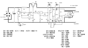 simple 13 8v and 20a dc power supply circuit diagram electronic