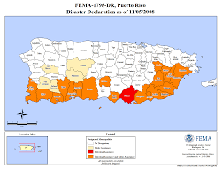 Puerto Rico United States Map by Puerto Rico Severe Storms And Flooding Dr 1798 Fema Gov