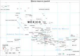 map of mexico inside map mexic evenakliyat biz