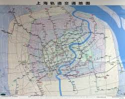 Map Of Shanghai Shanghai Highway Map Map Of Shanghai Highway China