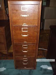 Vintage Oak Filing Cabinet Antique Oak File Cabinet 4 Drawer F47 About Remodel Fancy Home