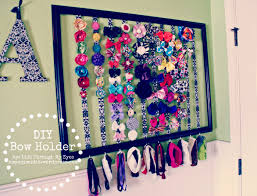bow holder diy bow holder through my
